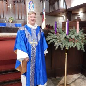 Father Michael During Advent